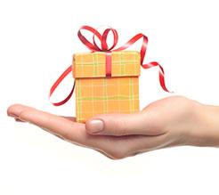 Cours OACP chauffeur reçoit un cadeau